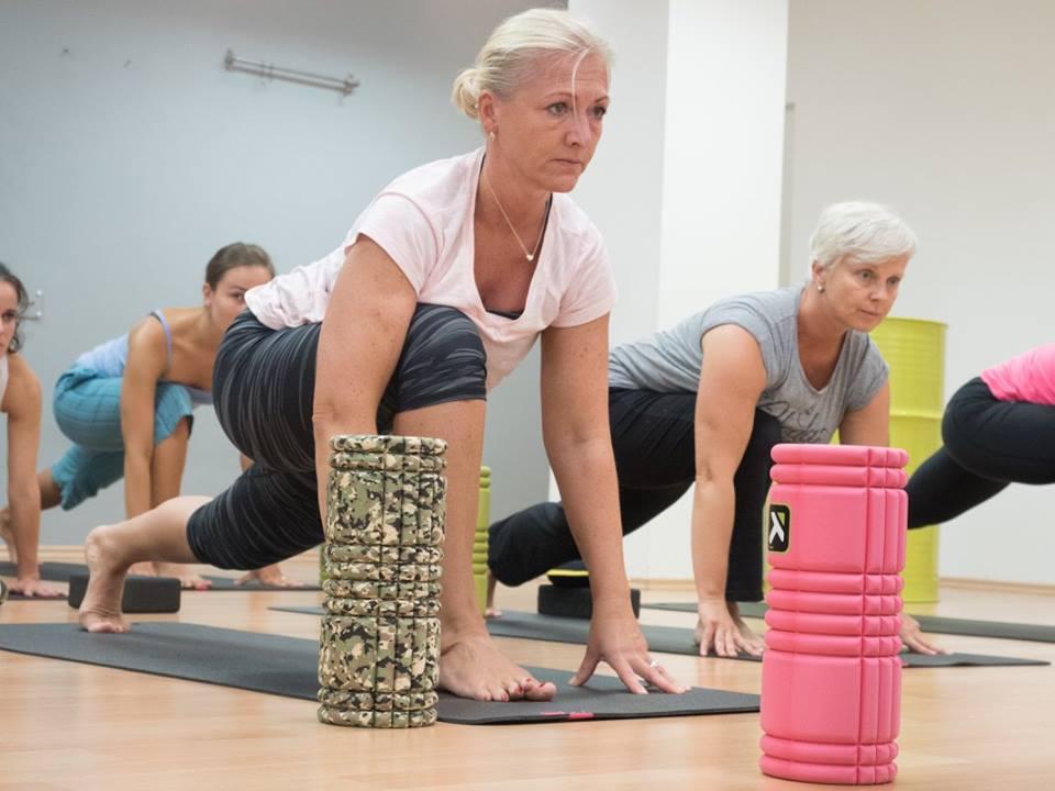 fascial yoga X
